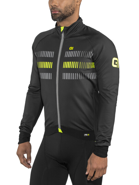 Alé Cycling Graphics PRR Strada 2.0 Jacket Men black-fluo yellow